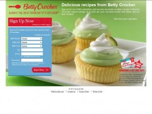 Betty Crocker Free Recipes